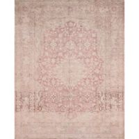 Magnolia Home by Joanna Gaines Lucca 2-Foot 6-Inch x 7-Foot 6-Inch Runner in Terracotta/Ivory