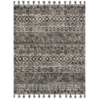Magnolia Home By Joanna Gaines Teresa 2-Foot 3-Inch x 3-Foot 9-Inch Accent Rug in Ivory/Charcoal