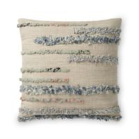 Magnolia Home by Joanna Gaines Harper Square Throw Pillow in Beige