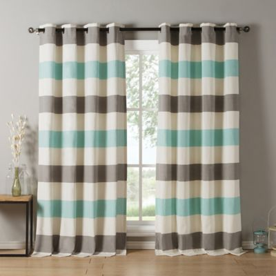 Greatest Buy Grey Blue Curtains from Bed Bath & Beyond IC04