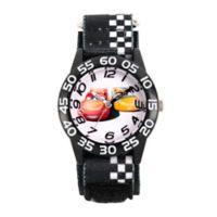 Disney® Cars 3 Children's Lightening McQueen/Cruz Ramirez Time Teacher Watch w/Nylon Strap