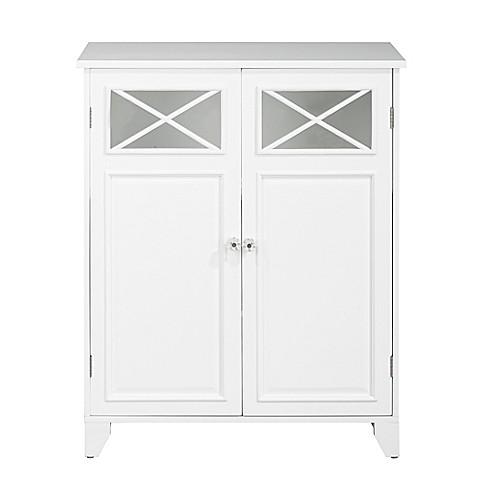 Elegant Home Fashions Allison 2-Door Floor Tower Cabinet ...