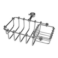 Kingston Brass Tub Riser Mount Bathtub Caddy in Chrome