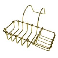 Kingston Brass Clawfoot Bathtub Caddy in Polished Brass