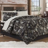 Hidden Retreat Travis 8-Piece Full Comforter Set in Black