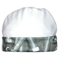 Raindrops Size 0-3M Nuts and Bolts Cap in Black