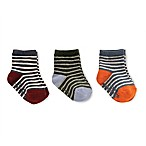 carter's® Size 12-24M 3-Pack Striped Crew Socks