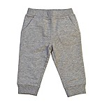Kidtopia Size 3M French Terry Jogger Pant in Grey