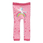 Doodle Pants® Small Rainbow Unicorn Leggings in Pink