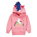 Doodle Pants® Size 18M Unicorn Hoodie in Pink