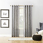 Xinnia 84-Inch Grommet Top Window Curtain Panel in Grey