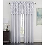 Kiley 84-Inch Rod Pocket Window Curtain Panel Pair in Grey