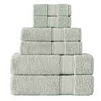 Grund Turkish Certified 100% Organic Cotton Towels in Sage (Set of 6)