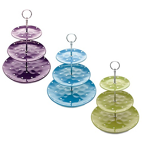 Maxwell Amp Williams Sprinkle 3 Tier Cake Stand Bed Bath