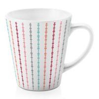 Designs Direct Multi Dot 12 oz. Latte Mug in Pink