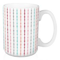 Designs Direct Multi Dot 15 oz. Coffee Mug in Pink
