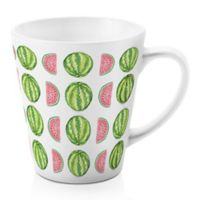 Designs Direct Watermelon Madness 12 oz. Latte Mug