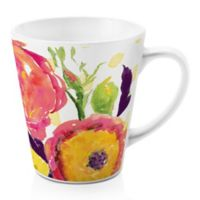 Designs Direct Floral Confetti 12 oz. Latte Mug
