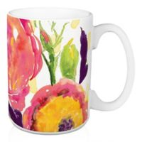 Designs Direct Floral Confetti 15 oz. Coffee Mug