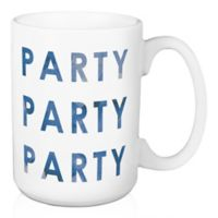 "Designs Direct ""Party Party Party"" 15 oz. Coffee Mug"