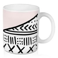 Designs Direct Aztec Style 11 oz. Coffee Mug in Pink