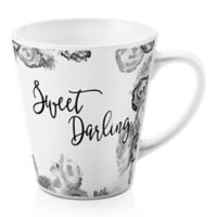 "Designs Direct ""Sweet Darling"" 12 oz. Coffee Mug in Grey"