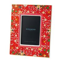 Wedgwood® Wonderlust Crimson Jewel 4-Inch x 6-Inch Picture Frame