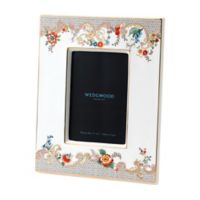 Wedgwood® Wonderlust Rococo Flowers 4-Inch x 6-Inch Picture Frame