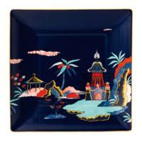 Wedgwood® Wonderlust Blue Pagoda 5.9-Inch Square Tray