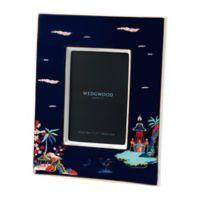Wedgwood® Wonderlust Blue Pagoda 4-Inch x 6-Inch Picture Frame