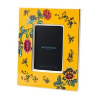 Wedgwood® Wonderlust Yellow Tonquin 4-Inch x 6-Inch Picture Frame