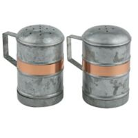 Thirstystone® Galvanized Iron and Copper Salt and Pepper Shakers