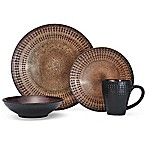Pfaltzgraff Cambria 16-Piece Dinnerware Set in Brown