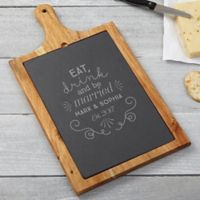 Be Married Slate & Wood Paddle Board
