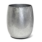 Veratex Glimmer Wastebasket in Silver