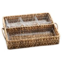 Artland® Garden Terrace Seagrass Double Tray Server