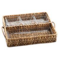 Artland® Garden Terrace Seagrass Double Tray Server