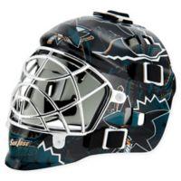 NHL San Jose Sharks Mini Goalie Mask