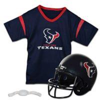 NFL Houston Texans Kids Helmet/Jersey Set