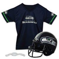 NFL Seattle Seahawks Kids Helmet/Jersey Set