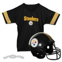 NFL Pittsburgh Steelers Kids Helmet/Jersey Set