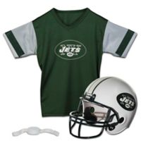 NFL New York Jets Kids Helmet/Jersey Set