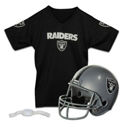 NFL Oakland Raiders Kids Helmet/Jersey Set