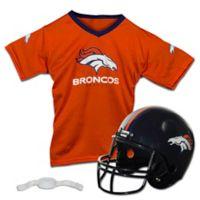 NFL Denver Broncos Kids Helmet/Jersey Set