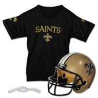 NFL New Orleans Saints Helmet/Jersey Set