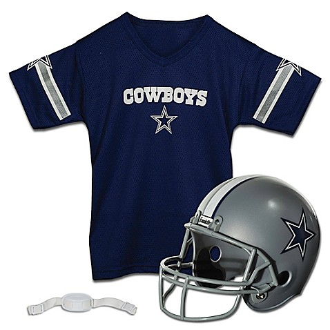 NFL Dallas Cowboys Kids Helmet/Jersey Set  buybuy BABY