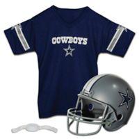NFL Dallas Cowboys Kids Helmet/Jersey Set