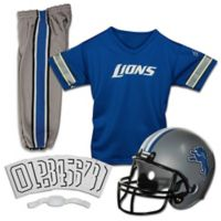 NFL Detroit Lions Youth Medium Deluxe Uniform Set
