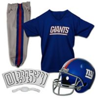 NFL New York Giants Youth Medium Deluxe Uniform Set