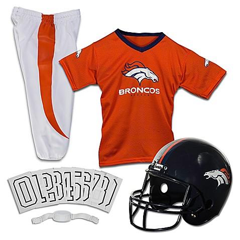 Nfl Denver Broncos Youth Deluxe Uniform Set Bed Bath
